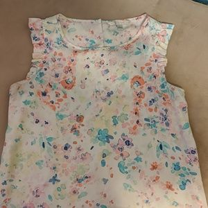 Lauren Conrad water color blouse top